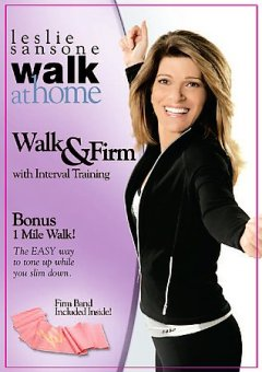Leslie Sansone walk at home : Walk & firm with interval training.