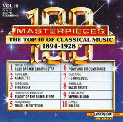100 masterpieces, vol. 10 : the top 10 of classical music, 1894-1928.