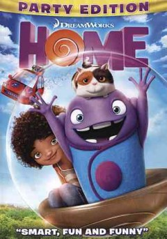 Home /  Dreamworks Animation SKG presents ; screenplay by Tom J. Astle & Matt Ember ; produced by Mireille Soria, Suzanne Buirgy, Christopher Jenkins ; directed by Tim Johnson. - Dreamworks Animation SKG presents ; screenplay by Tom J. Astle & Matt Ember ; produced by Mireille Soria, Suzanne Buirgy, Christopher Jenkins ; directed by Tim Johnson.