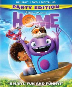 Home /  Dreamworks Animation SKG presents ; produced by Mireille Soria, Suzanne Buirgy, Christopher Jenkins ; screenplay by Tom J. Astle & Matt Ember ; directed by Tim Johnson. - Dreamworks Animation SKG presents ; produced by Mireille Soria, Suzanne Buirgy, Christopher Jenkins ; screenplay by Tom J. Astle & Matt Ember ; directed by Tim Johnson.