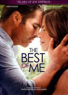 The best of me /  Relativity Media presents ; a Relativity Media, Di Novi Pictures, Nicholas Sparks production ; produced by Denise Di Novi, Alison Greenspan, Nicholas Sparks, Ryan Kavanaugh, Theresa Park ; screenplay by Will Fetters and J Mills Goodloe ; directed by Michael Hoffman.