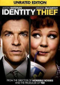 Identity thief /  Universal Pictures in association with Relativity Media ; a Bluegrass Films, Aggregate Films production ; produced by Scott Stuber, Jason Bateman, Pamela Abdy ; story by Jerry Eeten, Craig Mazin ; screenplay by Craig Mazin ; directed by Seth Gordon. - Universal Pictures in association with Relativity Media ; a Bluegrass Films, Aggregate Films production ; produced by Scott Stuber, Jason Bateman, Pamela Abdy ; story by Jerry Eeten, Craig Mazin ; screenplay by Craig Mazin ; directed by Seth Gordon.