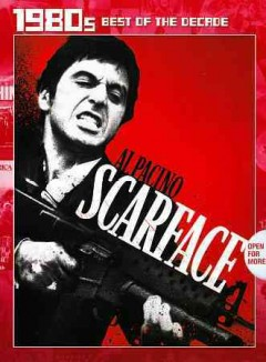 Scarface /  Universal City Studios ; A Martin Bregman production ; A Brian DePalma film ; screenplay by Oliver Stone ; produced by Martin Bregman ; directed by Brian De Palma.