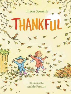 Thankful /  Eileen Spinelli ; illustrated by Simon James. - Eileen Spinelli ; illustrated by Simon James.