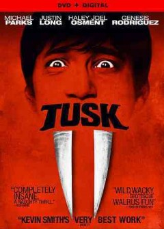 Tusk /  A24 and Demarest Films present ; a Demarest Films production ; in association with XYZ Films ; a Smodcast picture ; produced by Shannon McIntosh, Sam Englebardt, William D. Johnson, David S. Greathouse ; written and directed by Kevin Smith.