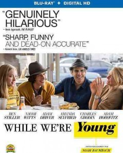 While we're young /  A 24 ; written and directed by Noah Baumbach ; produced by Noah Baumbach ... and others. - A 24 ; written and directed by Noah Baumbach ; produced by Noah Baumbach ... and others.