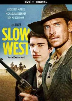 Slow west /  an A24 release ; Film4, BFI, and the New Zealand Film Commission present ; in association with Cross City Films and Hanway Films ; a DMW Film/See-Saw Films/Rachel Gardner Films production ; producers, Iain Canning, Rachel Gardner, Conor McCaughan, Emile Sherman ; written and directed by John Maclean.