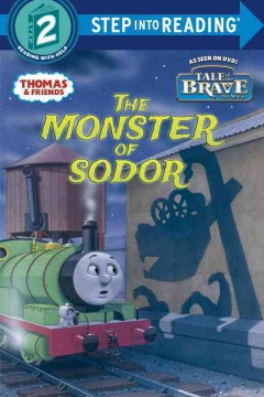 The monster of Sodor - illustrated by Richard Courtney.