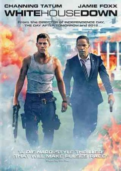 White House down /  Columbia Pictures presents a Mythology Entertainment/Centropolis Entertainment production ; written by James Vanderbilt ; produced by Bradley J. Fischer, Harald Kloser, James Vanderbilt, Larry Franco, Laeta Kalogridis ; directed by Roland Emmerich. - Columbia Pictures presents a Mythology Entertainment/Centropolis Entertainment production ; written by James Vanderbilt ; produced by Bradley J. Fischer, Harald Kloser, James Vanderbilt, Larry Franco, Laeta Kalogridis ; directed by Roland Emmerich.