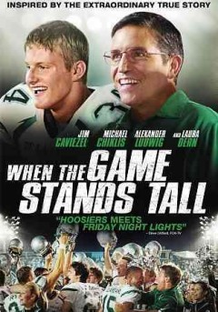 When the game stands tall /  Tristar Pictures presents ; screenplay by Scott Marshall Smith ; directed by Thomas Carter.