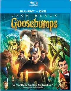 Goosebumps /  Columbia Pictures and Sony Pictures Animation present ; in association with LStar Capital and Village Roadshow Pictures ; an Original Film/Scholastic Entertainment Inc. production ; produced by Deborah Forte, Neal H. Moritz ; story by Scott Alexander & Larry Karaszewski ; screenplay by Darren Lemke ; directed by Rob Letterman. - Columbia Pictures and Sony Pictures Animation present ; in association with LStar Capital and Village Roadshow Pictures ; an Original Film/Scholastic Entertainment Inc. production ; produced by Deborah Forte, Neal H. Moritz ; story by Scott Alexander & Larry Karaszewski ; screenplay by Darren Lemke ; directed by Rob Letterman.