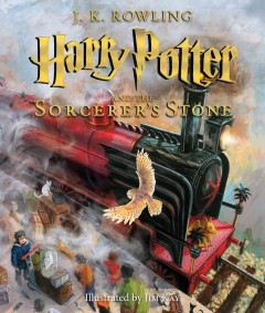 Harry Potter and the sorcerer's stone /  J.K. Rowling ; illustrated by Jim Kay. - J.K. Rowling ; illustrated by Jim Kay.