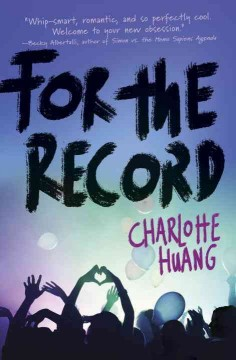 For the record /  Charlotte Huang. - Charlotte Huang.