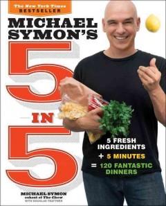 Michael Symon's 5 in 5 /  Michael Symon with Douglas Trattner. - Michael Symon with Douglas Trattner.