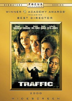 Traffic /  directed by Steven Soderbergh ; screenplay by Stephen Gaghan ; produced by Edward Zwick, Marshall Herskovitz, Laura Bickford ; a Bedford Falls/Laura Bickford production ; a USA Films presentation in association with Initial Entertainment Group.