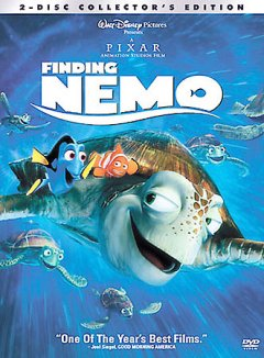 Finding Nemo /  Walt Disney Pictures presents a Pixar Animation Studios film ; producer, Graham Walters ; screenplay writers, Andrew Stanton, Bob Peterson, David Reynolds ; directors, Andrew Stanton, Lee Unkrich. - Walt Disney Pictures presents a Pixar Animation Studios film ; producer, Graham Walters ; screenplay writers, Andrew Stanton, Bob Peterson, David Reynolds ; directors, Andrew Stanton, Lee Unkrich.