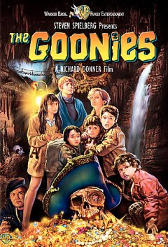 The Goonies /  Warner Bros. Pictures ; Steven Spielberg presents ; Amblin Entertainment ; screenplay by Chris Columbus ; produced by Richard Donner and Harvey Bernhard ; directed by Richard Donner. - Warner Bros. Pictures ; Steven Spielberg presents ; Amblin Entertainment ; screenplay by Chris Columbus ; produced by Richard Donner and Harvey Bernhard ; directed by Richard Donner.