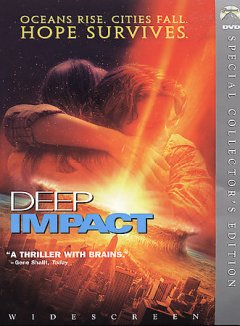 Deep impact /  Paramount Pictures and Dreamworks Pictures present ; produced by Richard D. Zanuck, David Brown ; written by Bruce Joel Rubin and Michael Tolkin ; directed by Mimi Leder.