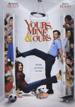 Yours, mine & ours /  Paramount Pictures and Metro-Goldwyn-Mayer Pictures and Nickelodeon Movies and Columbia Pictures present a Robert Simonds production, a Raja Gosnell film ; produced by Robert Simonds, Michael Nathanson ; screenplay by Ron Burch & David Kidd ; directed by Raja Gosnell.