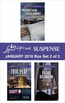 Love inspired suspense January 2016.