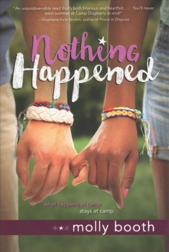 Nothing happened /  Molly Booth. - Molly Booth.