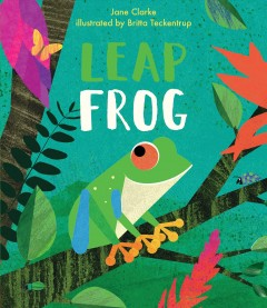 Leap frog /  Jane Clarke ; illustrated by Britta Teckentrup. - Jane Clarke ; illustrated by Britta Teckentrup.