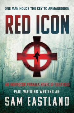 Red icon /  Paul Watkins writing as Sam Eastland. - Paul Watkins writing as Sam Eastland.