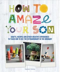 How to amaze your son : crafts, recipes and other creative experiences to teach him how to pick up little treasures anywhere / Raphaële Vidaling.