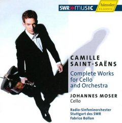 Complete works for cello and orchestra /  Camille Saint-Saens.