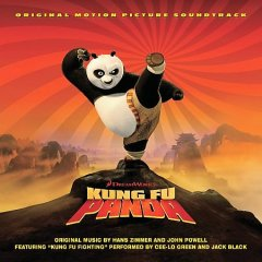 Kung fu panda : music from the motion picture / original music by Hans Zimmer and John Powell. - original music by Hans Zimmer and John Powell.