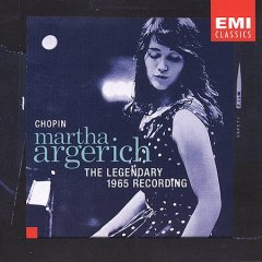 Chopin : Martha Argerich : the legendary 1965 recording.