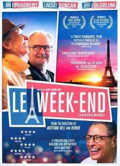 Le week-end /  Music Box Films, Film4, BFI, Curzon Film World present ; a Free Range Film ; in association with Le Bureau ; a film by Roger Michell ; produced by Keving Loader ; written by Hanif Kureishi ; directed by Roger Michell.