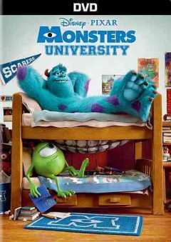 Monsters University /  Disney presents a Pixar Animation Studios film ; story by Dan Scanlon, Daniel Gerson & Robert L. Baird ; screenplay by Daniel Gerson & Robert L. Baird, Dan Scanlon ; produced by Kori Rai ; directed by Dan Scanlon. - Disney presents a Pixar Animation Studios film ; story by Dan Scanlon, Daniel Gerson & Robert L. Baird ; screenplay by Daniel Gerson & Robert L. Baird, Dan Scanlon ; produced by Kori Rai ; directed by Dan Scanlon.