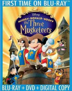 Mickey, Donald, Goofy : the three musketeers.