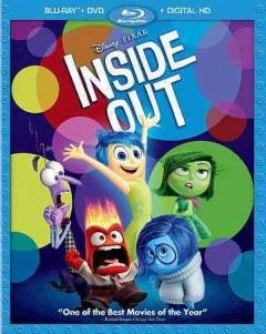 Inside out [2-disc set] /  a Pixar Animation Studios film ; story by Pete Docter, Ronine del Carmen ; screenplay by Pete Docter, Meg LeFauve, Josh Cooley ; produced by Jonas Rivera ; co-directed by Ronnie del Carmen ; directed by Pete Docter. - a Pixar Animation Studios film ; story by Pete Docter, Ronine del Carmen ; screenplay by Pete Docter, Meg LeFauve, Josh Cooley ; produced by Jonas Rivera ; co-directed by Ronnie del Carmen ; directed by Pete Docter.