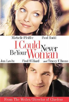 I could never be your woman /  I Could Never Ltd. ; Bauer Martinez Studios ; Scott Rudin Productions ; produced by Cerise Hallam Larkin, Alan Latham, Philippe Martinez ; written by Amy Heckerling ; directed by Amy Heckerling. - I Could Never Ltd. ; Bauer Martinez Studios ; Scott Rudin Productions ; produced by Cerise Hallam Larkin, Alan Latham, Philippe Martinez ; written by Amy Heckerling ; directed by Amy Heckerling.