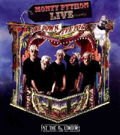 Monty Python live (mostly) : one down, five to go / Python (Monty) Pictures Ltd. ; written and performed by the Pythons ; live show created & directed by Eric Idle ; produced by Jim Beach ; director, Aubrey Powell ; producer, Fiz Oliver.