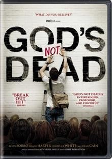 God's not dead /  Pure Flix production ; in association with Check the Gate Productions and Red Entertainment Group ; produced by Michael Scott, Russell Wolfe, David A.R. White, Anna Zelinski, Elizabeth Travis ; written by Cary Solomin & Chuck Konzelman ; directed by Harold Cronk.