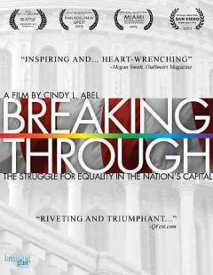 Breaking through : out of the closet and into the halls of power