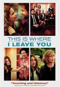 This is where I leave you /  Warner Bros. Pictures presents ; a Spring Creek production ; a 21 Laps production ; screenplay by Jonathan Tropper ; produced by Paula Weinstein, Shawn Levy, Jeffrey Levine ; directed by Shawn Levy.