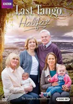 Last tango in Halifax.  Red Production Company, British Broadcasting Corporation ; produced by Karen Lewis ; directors, Nigel Cole, Syd Macartney ; created and written by Sally Wainwright. - Red Production Company, British Broadcasting Corporation ; produced by Karen Lewis ; directors, Nigel Cole, Syd Macartney ; created and written by Sally Wainwright.