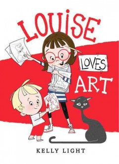 Louise loves art - Kelly Light.