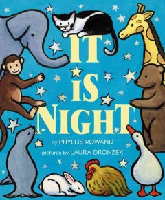It is night - by Phyllis Rowand ; illustrated by Laura Dronzek.