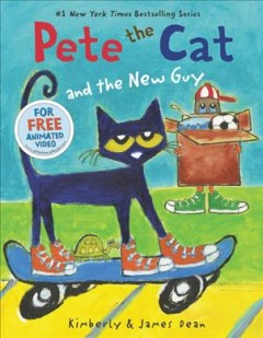 Pete the Cat and the new guy - Kimberly and James Dean.