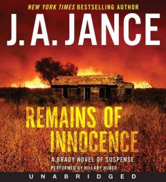 Remains of innocence - J.A. Jance.