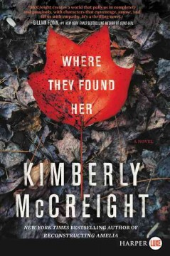 Where they found her : a novel / Kimberly McCreight. - Kimberly McCreight.