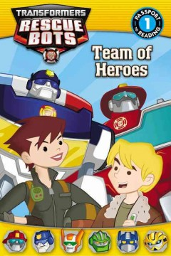Team of heroes - by Jennifer Fox.