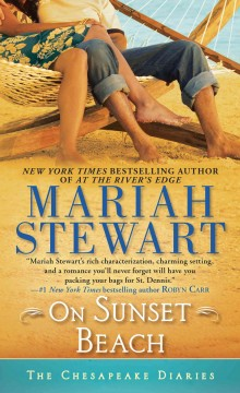 On sunset beach - Mariah Stewart.