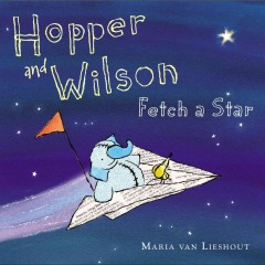 Hopper and Wilson fetch a star - Maria van Lieshout.