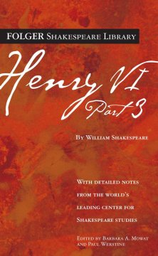 Henry VI.  by William Shakespeare ; edited by Barbara A. Mowat and Paul Werstine. - by William Shakespeare ; edited by Barbara A. Mowat and Paul Werstine.